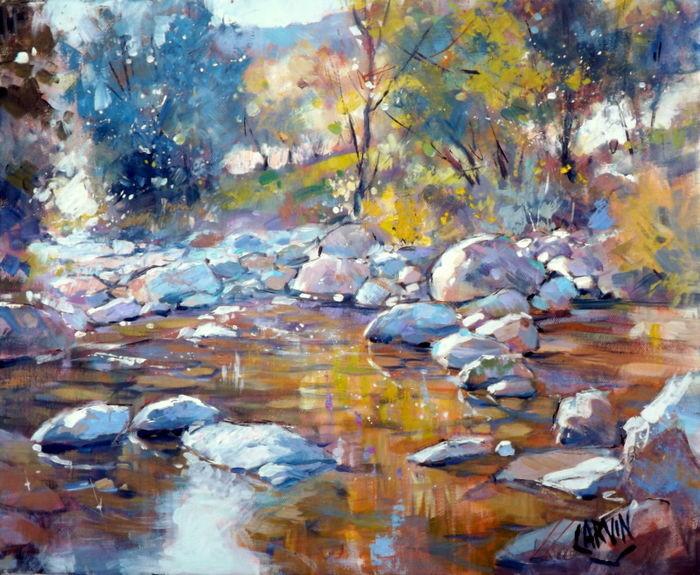 Claude Carvin - l'eau claire