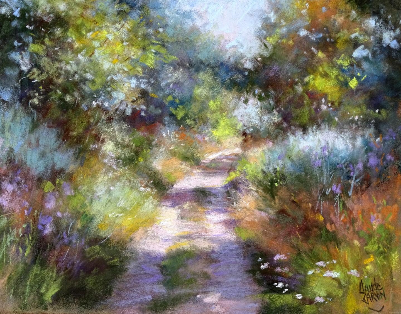 Claude Carvin - Petit chemin au parfum de printemps