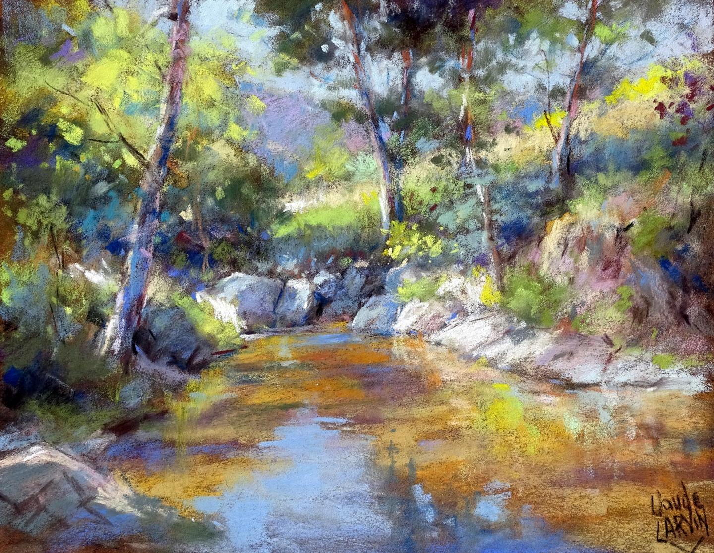 Claude Carvin - Un coin de rivière
