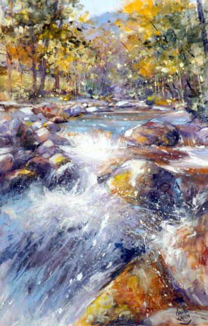 Claude Carvin - Eclat de rivière