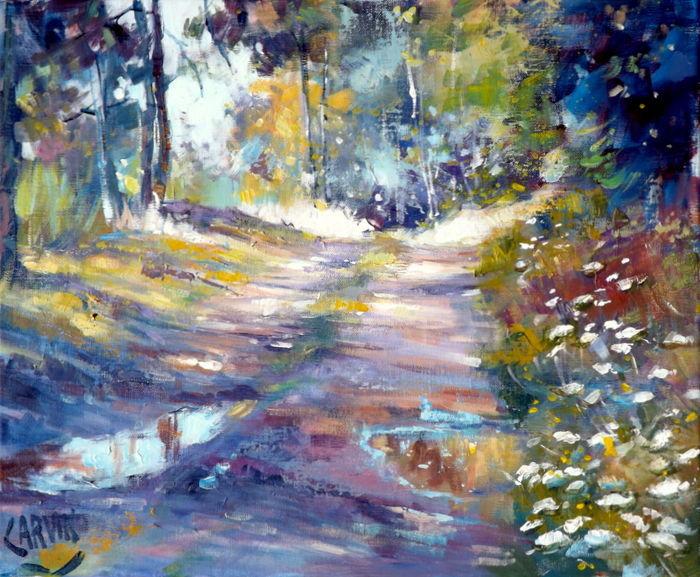 Claude Carvin - Après la pluie