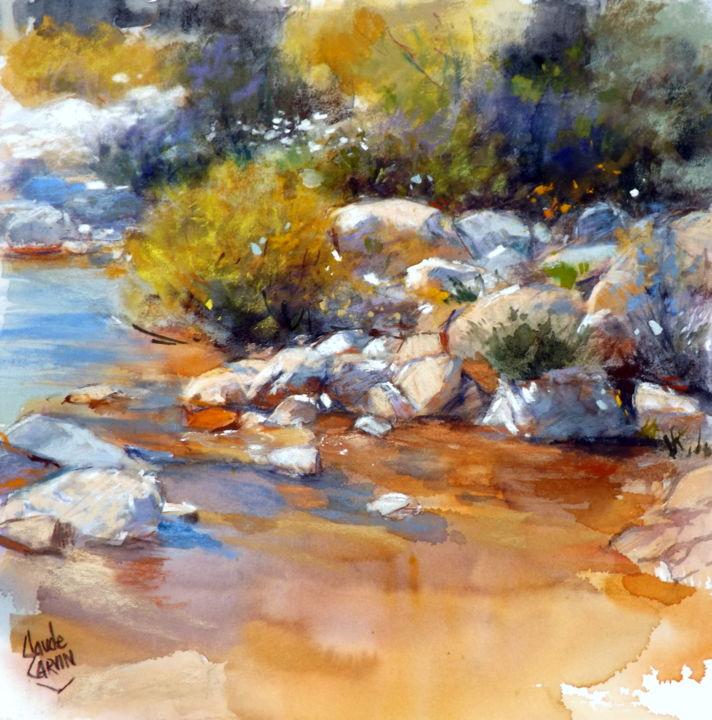 Claude Carvin - Au bord de l'eau